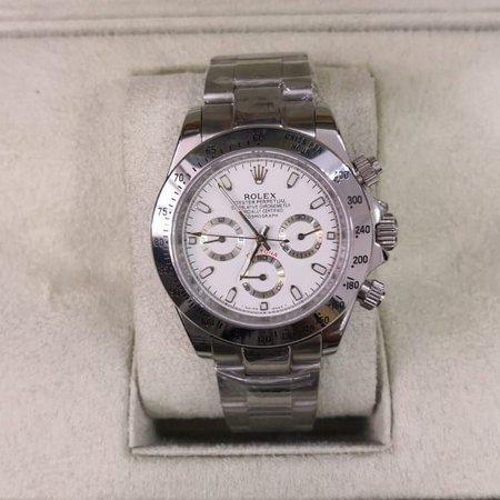 Réplica de relógio Rolex Daytona Prata 2