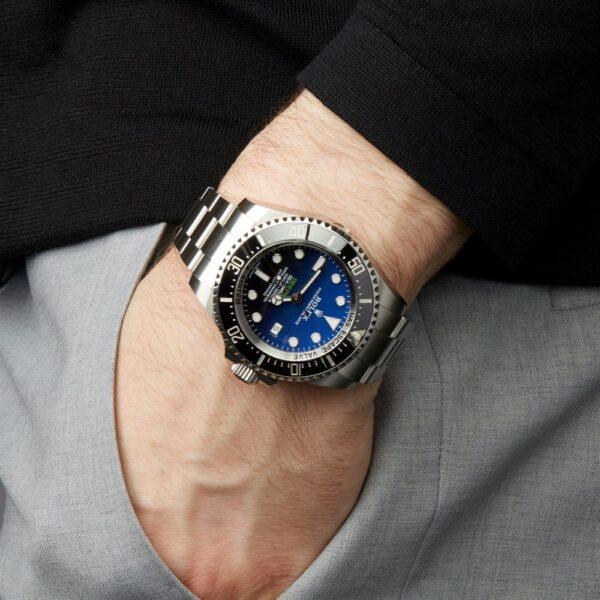 Réplica de relógio Rolex Deepsea Prata 5