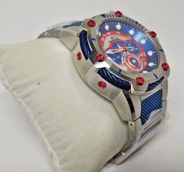 Réplica de relógio Invicta Capitão América 3