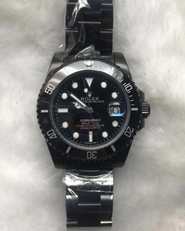 Réplica de relógio Rolex Submariner – Preto 4