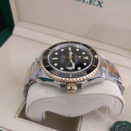 Réplica de relógio Rolex Submariner Misto – Preto 5