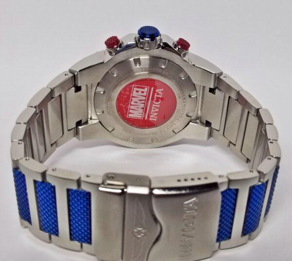 Réplica de relógio Invicta Capitão América 2