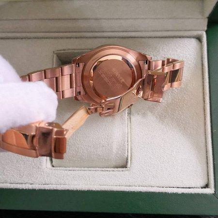 Réplica de relógio Rolex Daytona Rosê/Dourado 2