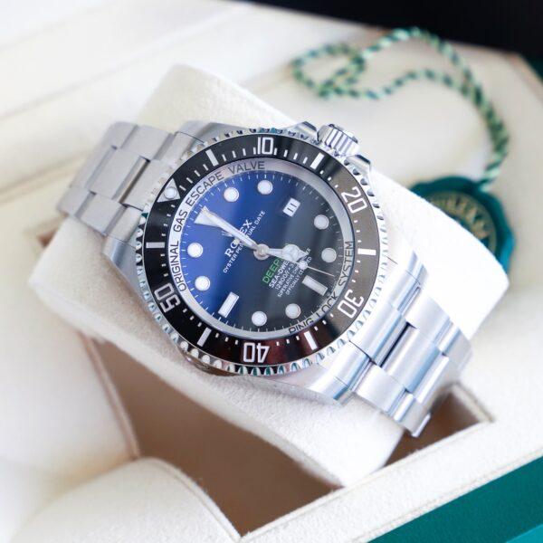 Réplica de relógio Rolex Deepsea Prata 3
