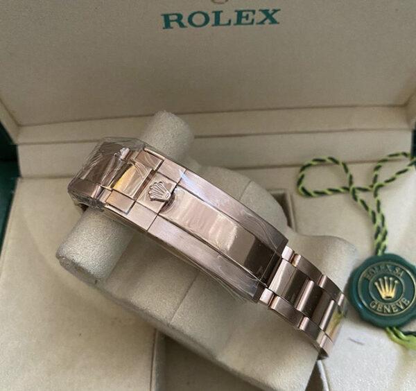 Réplica de relógio Rolex GMT Rosê 3