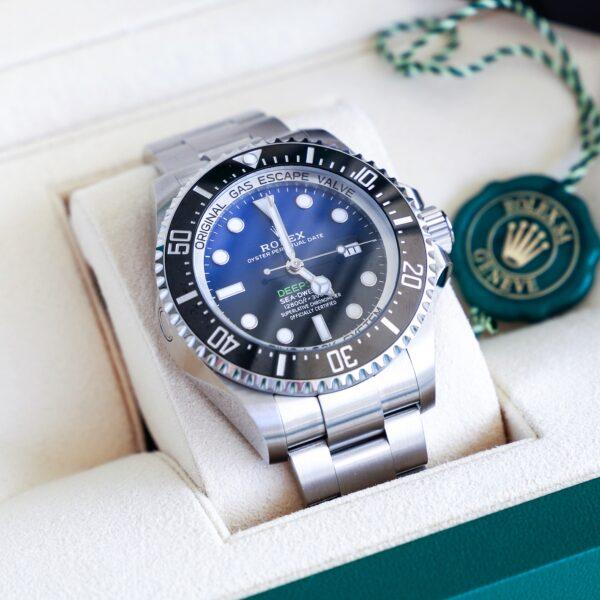 Réplica de relógio Rolex Deepsea Prata 2
