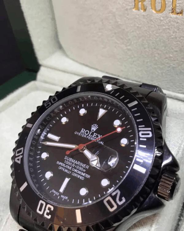 Réplica de relógio Rolex Submariner – Preto 6
