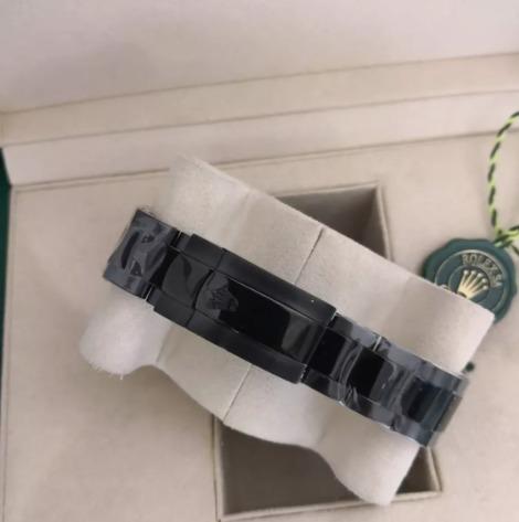 Réplica de relógio Rolex Milgaus Preto 5