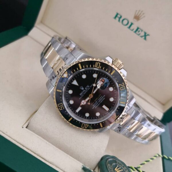 Réplica de relógio Rolex Submariner Misto – Preto