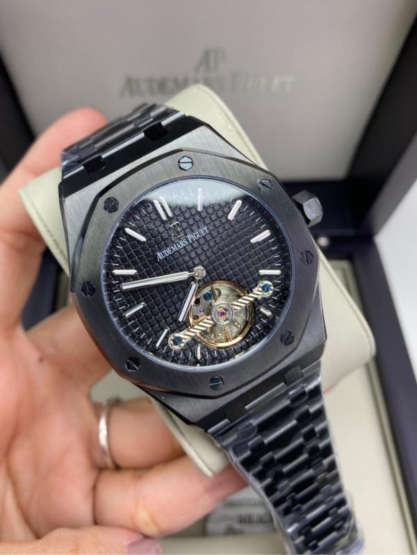 Réplica de relógio Audemars Piquet Royal Automático Aço – Preto