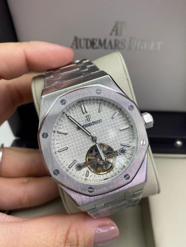 Réplica de relógio Audemars Piquet Royal Automático Aço – Prata