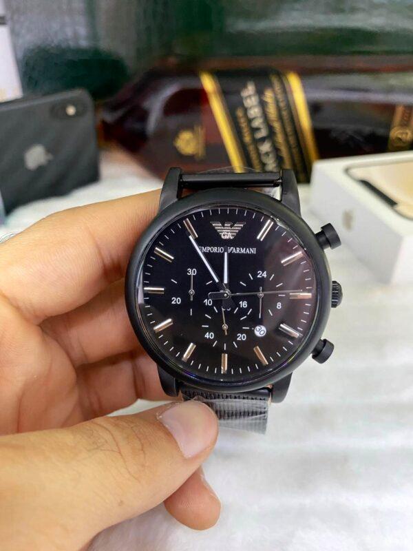 Réplica de relógio Armani AR11047 – Preto