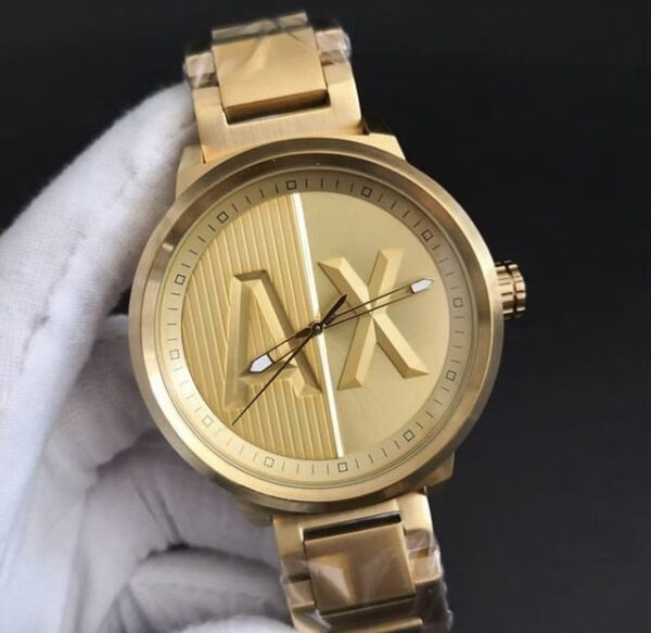 Réplica de relógio Armani Ax – Dourado