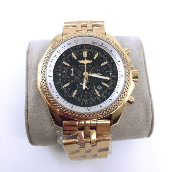 Réplica de relógio Breitling Bateria – Dourado/Preto