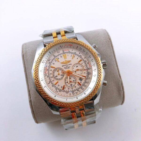 Réplica de relógio Breitling Bateria – Prata/Dourado