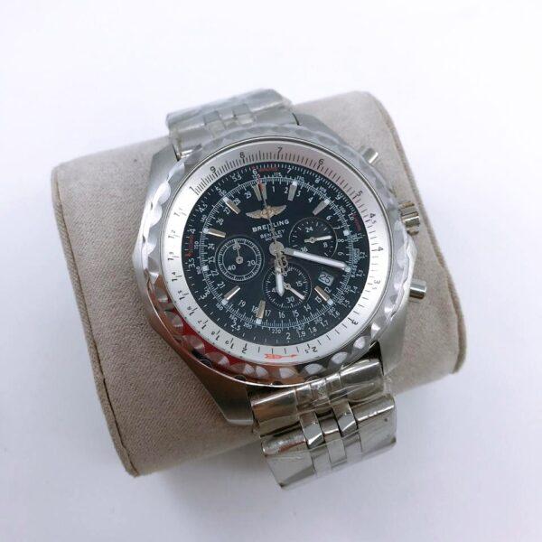 Réplica de relógio Breitling Bateria – Prata/Preto