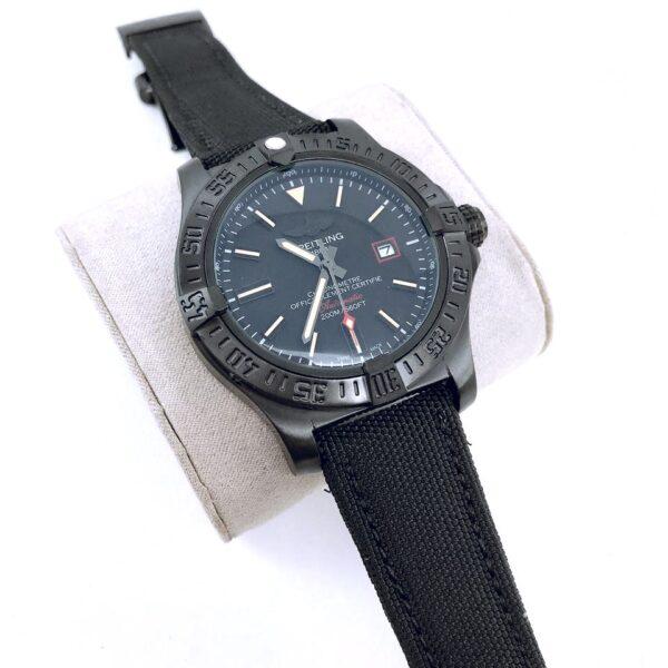 Réplica de relógio Breitling Lona Automático – Preto