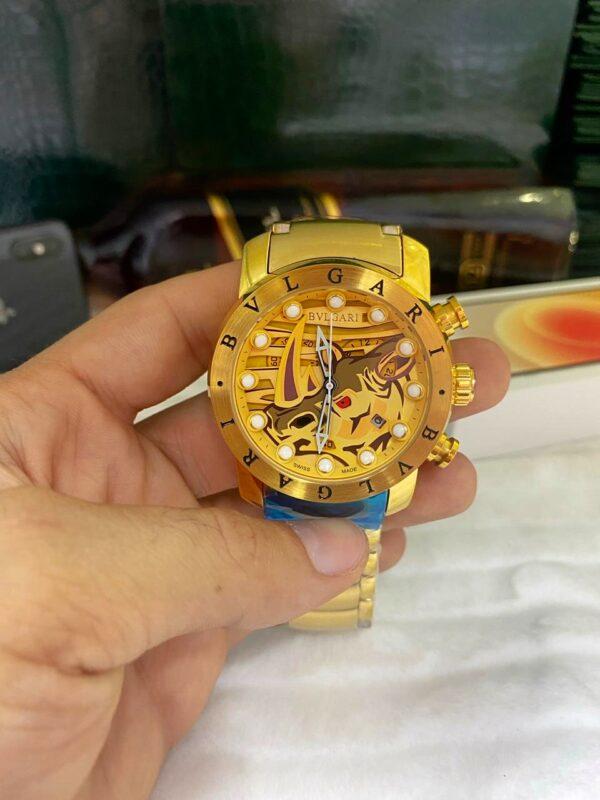 Réplica de relógio Bvlgari BV – Dourado