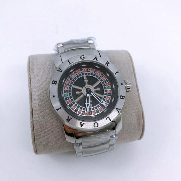 Réplica de relógio Bvlgari Cassino – Preto