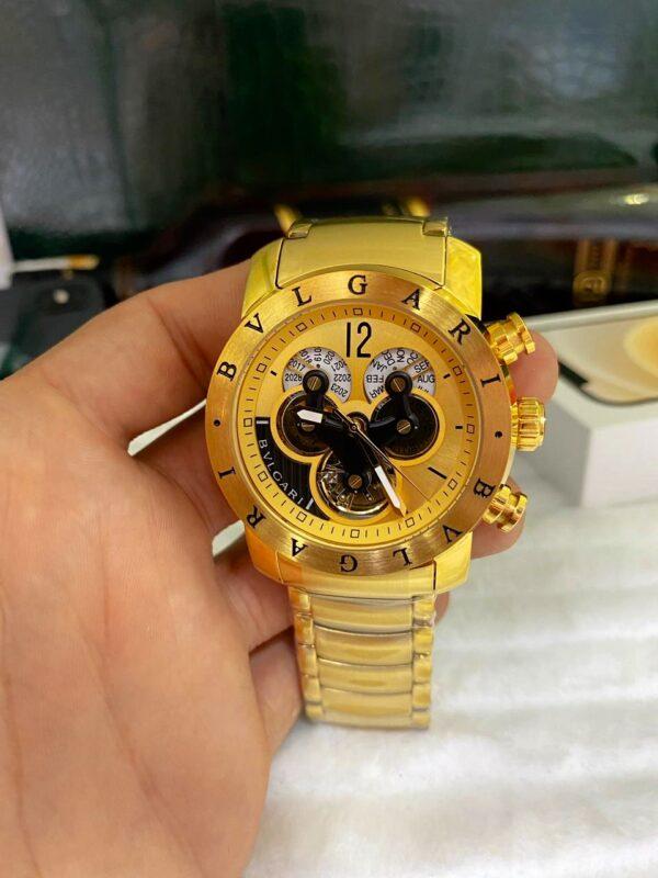 Réplica de relógio Bvlgari Hybrid – Dourado