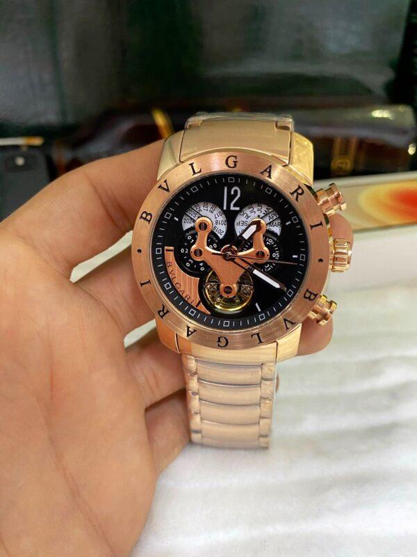 Réplica de relógio Bvlgari Hybrid – Rosê