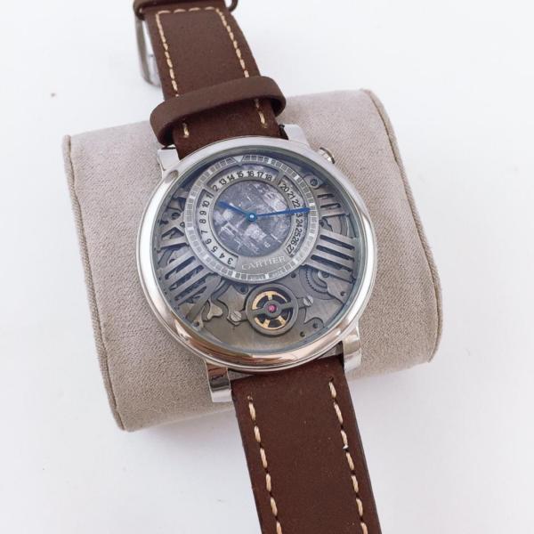 Réplica de relógio Cartier Au750 – Marrom