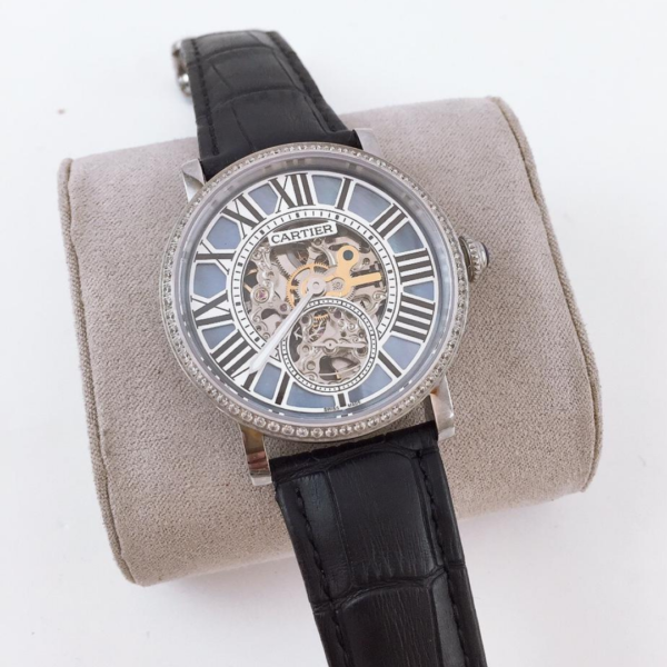 Réplica de relógio Cartier Au750 – Preto