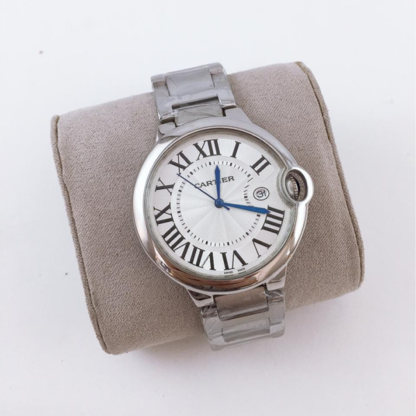 Réplica de relógio Cartier Ballon Blue – Prata