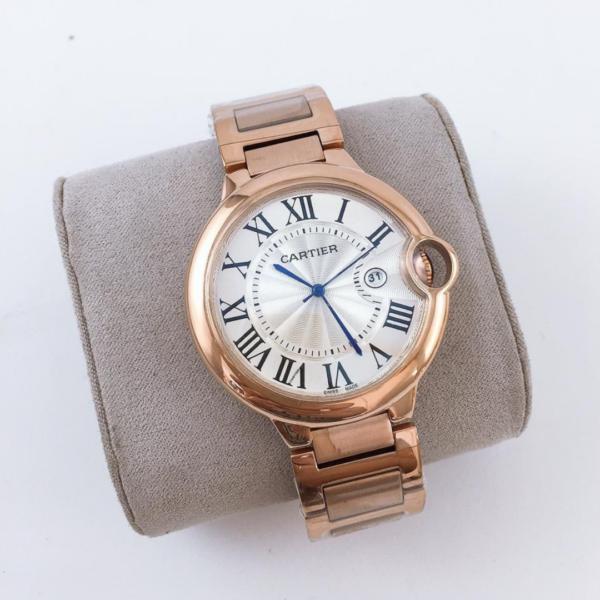Réplica de relógio Cartier Ballon Blue – Rosê
