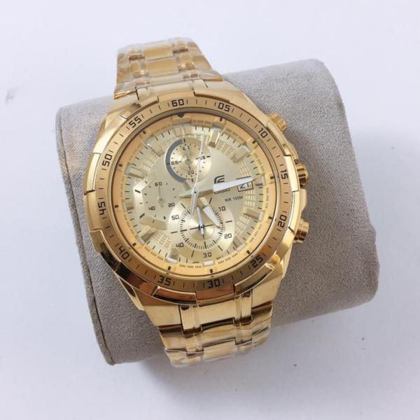 Réplica de relógio Casio Edifice – Dourado
