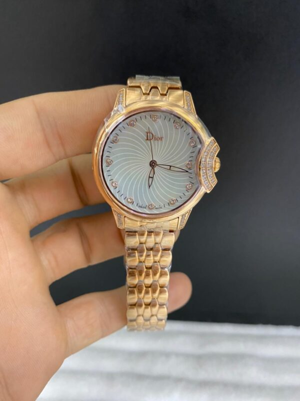 Réplica de relógio Dior Dife – Dourado