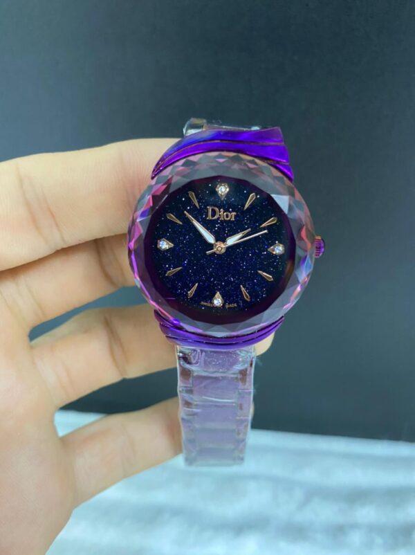 Réplica de relógio Dior Dife – Roxo
