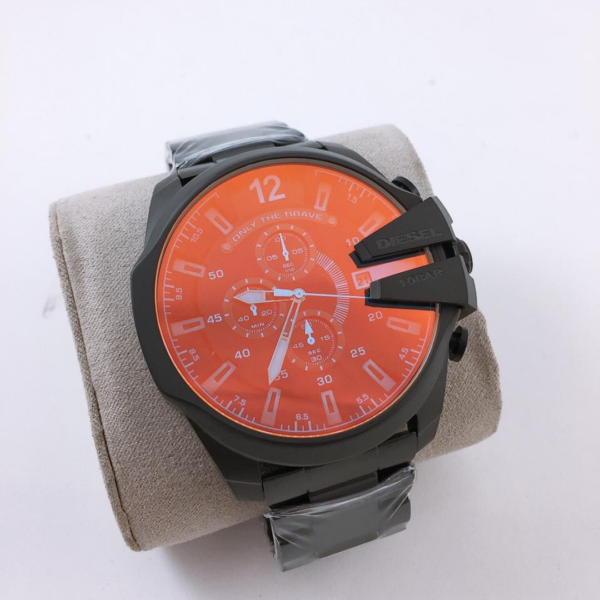 Réplica de relógio Diesel 10 Bar – Preto/Laranja
