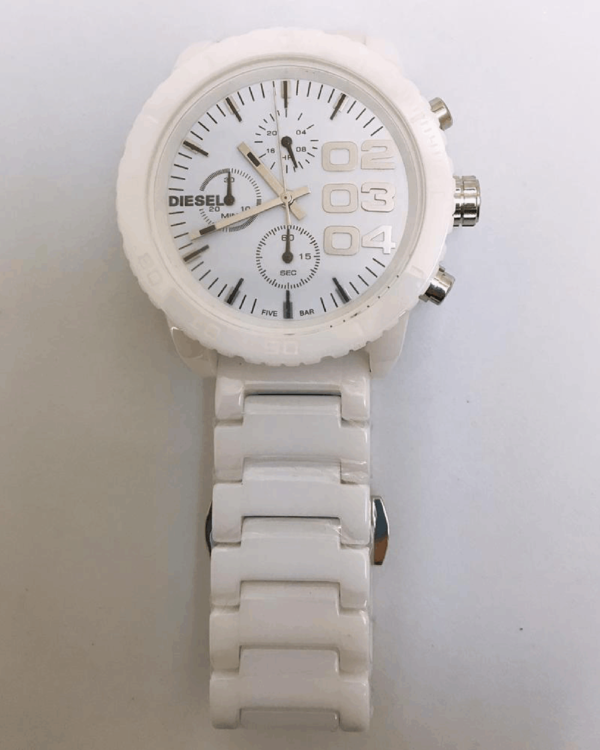 Réplica de relógio Diesel Feminino – Branco