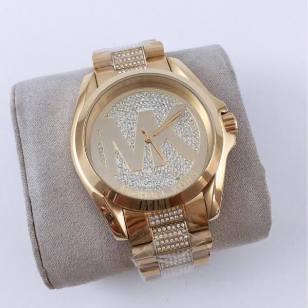 Réplica de relógio Michael Kors – Dourado II