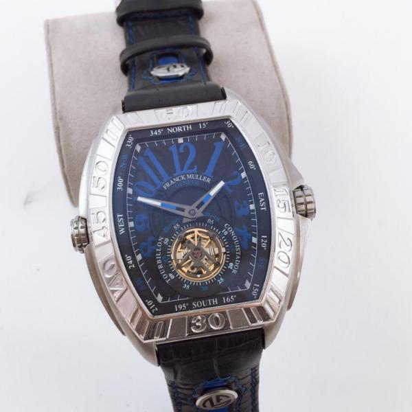 Réplica de relógio Franck Muller Automático – Prata