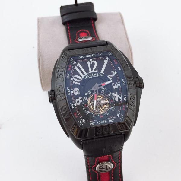 Réplica de relógio Franck Muller Automático – Preto