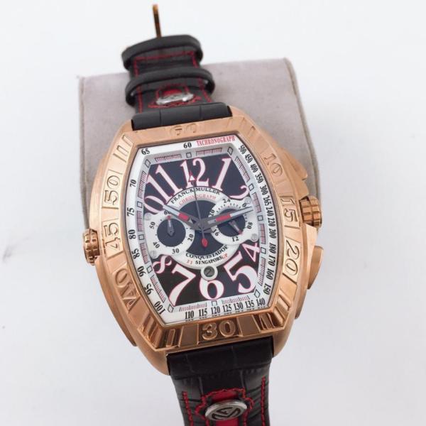 Réplica de relógio Franck Muller Bateria – Dourado