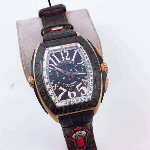 Réplica de relógio Franck Muller Bateria – Preto