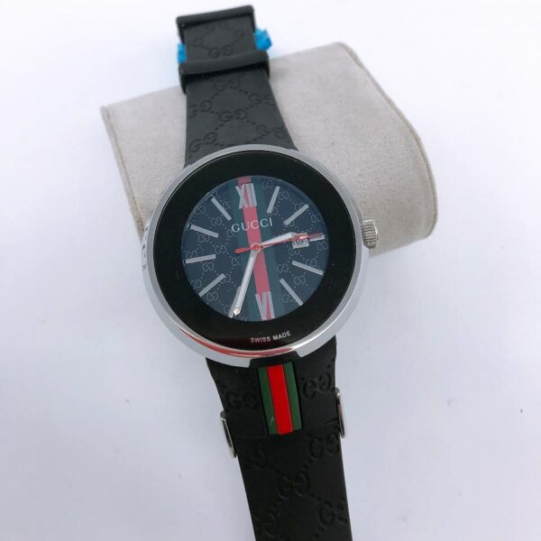 Réplica de relógio Gucci – Preto/Prata