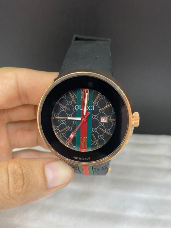 Réplica de relógio Gucci – Preto/Marrom