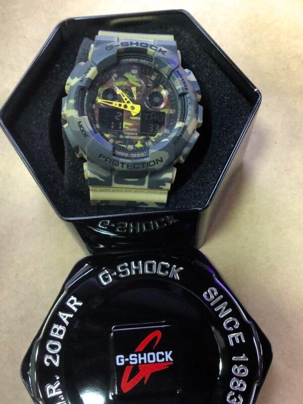 Réplica de relógio G-Shock – Camuflado