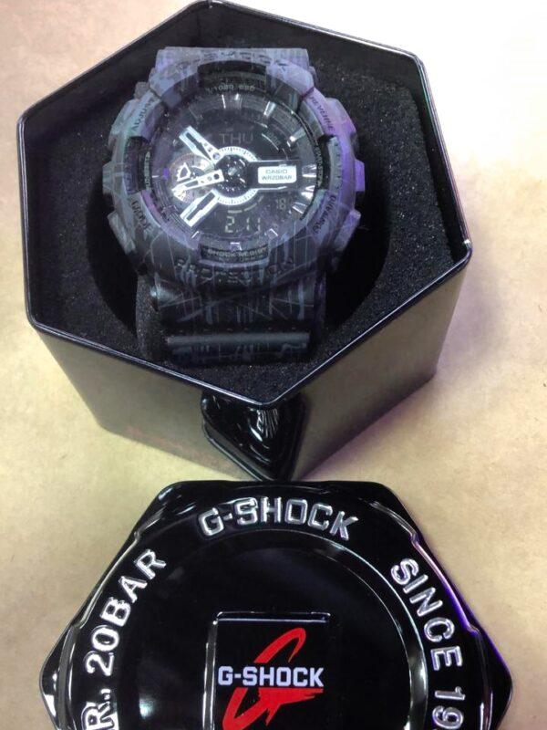 Réplica de relógio G-Shock – Roxo/Violeta