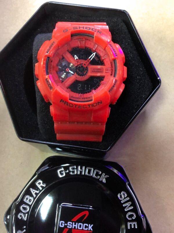 Réplica de relógio G-Shock – Vermelho