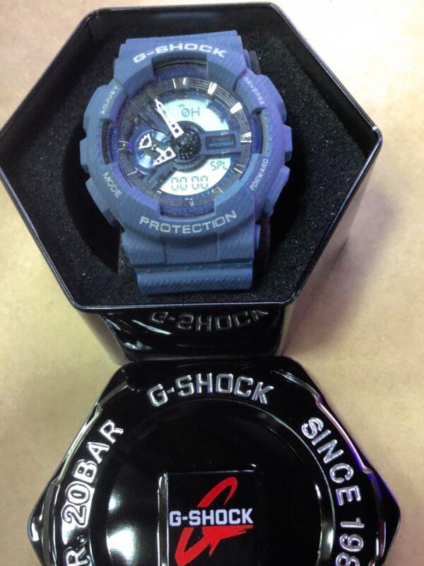 Réplica de relógio G-Shock – Azul Marinho