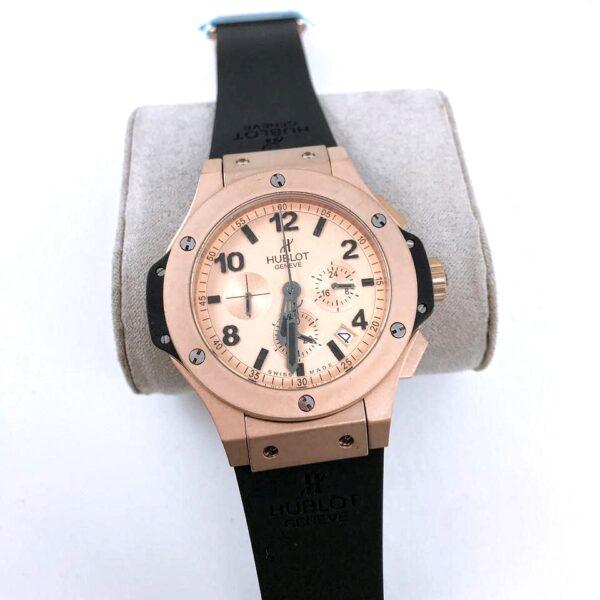 Réplica de relógio Hublot Big Bang – Preto/Dourado
