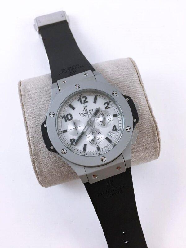 Réplica de relógio Hublot Big Bang – Preto/Cinza