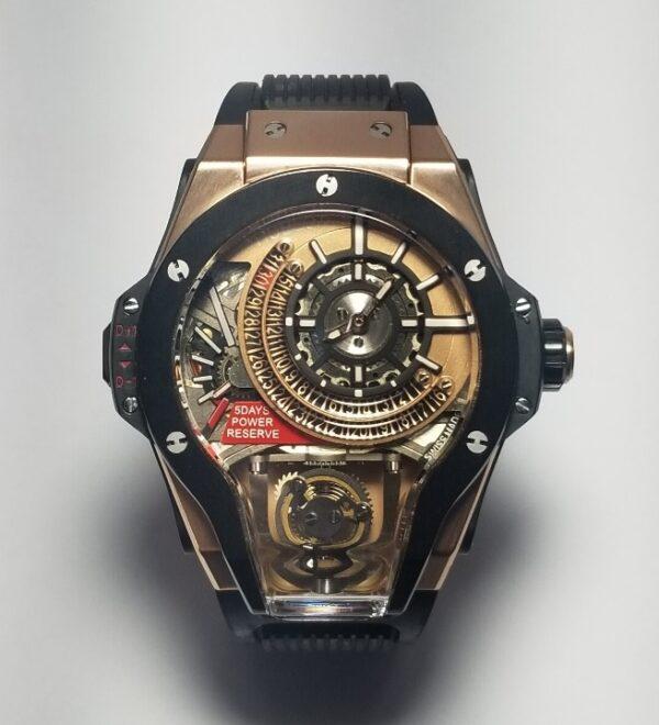 Réplica de relógio Hublot Ferrari – Preto
