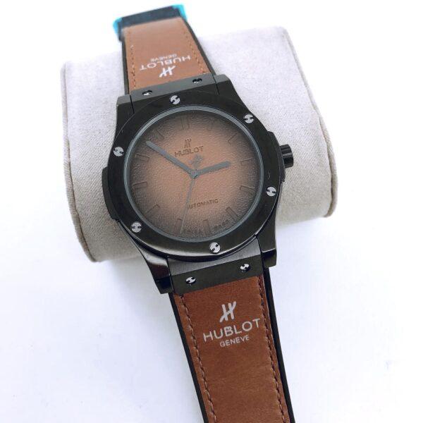 Réplica de relógio Hublot Geneve Couro – Marrom