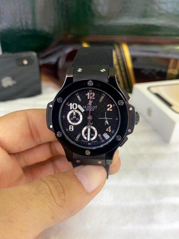 Réplica de relógio Hublot Geneve Crono – Black